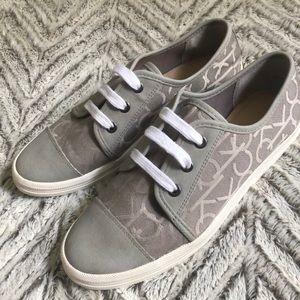 Calvin Klein Canvas & Leather shoes 6.5